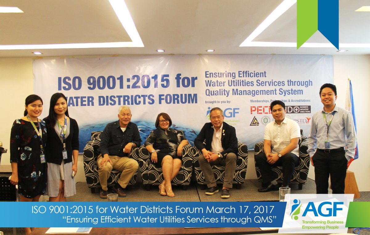 Agf Consulting Group Philippines Iso 9001 2015 Forum For